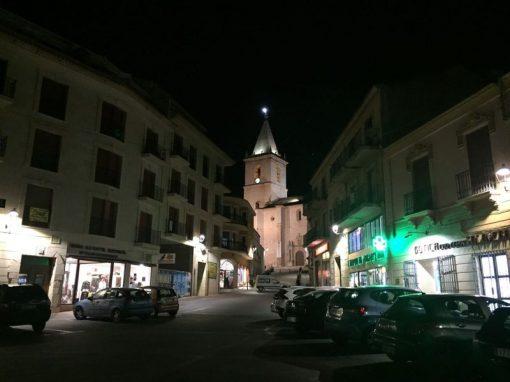 Cambio a LED Plaza Mayor y Centro Histórico de La Roda