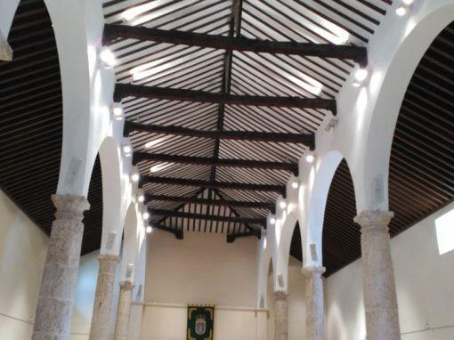 Iluminación LED Interior Ermita de San Sebastian de La Roda