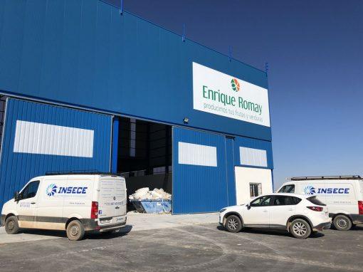 Instalación eléctrica baja y alta tensión nave hortofrutícola y línea alta tensión S.A.T. riego en Balazote