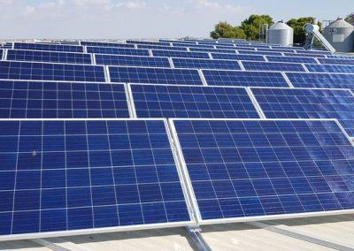 Instalación fotovoltaica para autoconsumo en explotación agrícola y ganadera