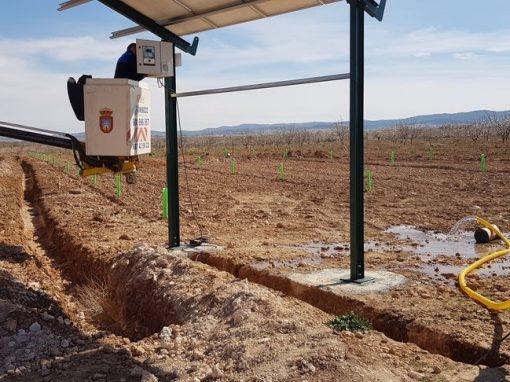 Instalación Completa de Bombeo Solar 4cv