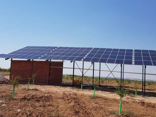 Instalación solar de 2 bombas de 10Cv con automatización y control por internet